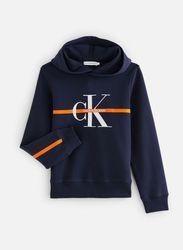 Sweatshirt hoodie Monogram Stripe par - Calvin Klein - Modalova