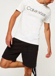 Cotton Front Logo T-Shirt par - Calvin Klein - Modalova