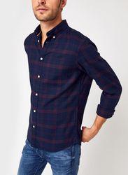 Slhslimflannel Shirt Ls W Noos par - Selected Homme - Modalova