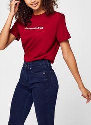 Shrunken Institutional Tee par - Calvin Klein Jeans - Modalova