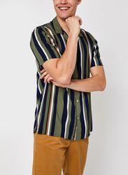 Slhregmichael Shirt Ss Stripes W par - Selected Homme - Modalova