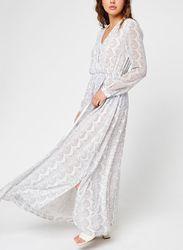 Georgette Ls Wrap Maxi Dress par - Calvin Klein - Modalova