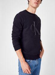 Leather Monogram Crew Neck par - Calvin Klein Jeans - Modalova