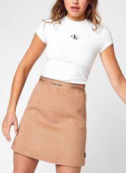 Side Drawstrings Rib Tee par - Calvin Klein Jeans - Modalova