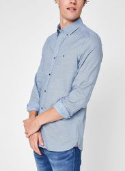 Slim Oxford Mini Print Shirt par - Tommy Hilfiger - Modalova