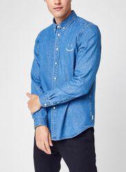 Mens Ls Tailored Fit Shirt Emb Ps Happy par - PS Paul Smith - Modalova