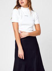 Micro Branding Rib Baby Tee par - Calvin Klein Jeans - Modalova