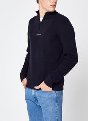 Micro Branding Half Zip Sweater par - Calvin Klein Jeans - Modalova