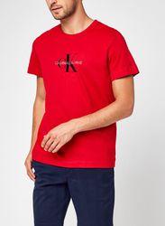 Archival Monogram Flock Tee par - Calvin Klein Jeans - Modalova