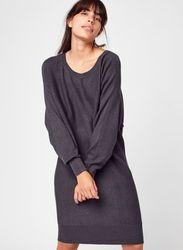 Nmship L/S Boatneck Knit Dress Bg Noos par - Noisy May - Modalova
