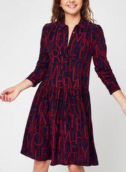 VISCOSE KNEE F&F DRESS LS par - Tommy Hilfiger - Modalova