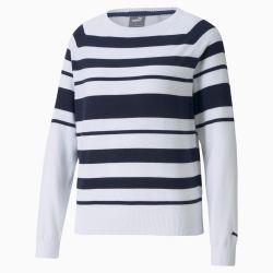 Pull de golf Ribbon , Blanc/Bleu, Taille S, Vêtements - PUMA - Modalova