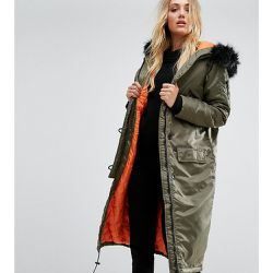 Full Moon - Parka longue - Brave Soul Tall - Shopsquare