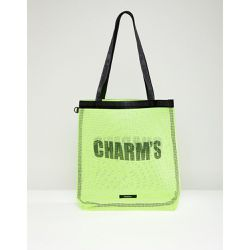 Charm's - Tote bag - Jaune fluo - Jaune - Charms - Shopsquare