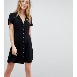 Robe patineuse courte boutonnée - ASOS Tall - Shopsquare