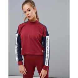 Training - Sweat-shirt à col montant - Bordeaux - Adidas - Shopsquare