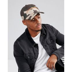 Casquette de baseball avec logo et imprimé camouflage - Good For Nothing - Shopsquare