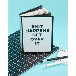 Livre « Shit Happens Get Over It - Books - Shopsquare