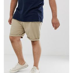 Plus - Short chino ajusté - Mastic - ASOS DESIGN - Shopsquare