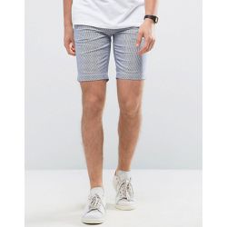 Short chino à rayures - casual friday - Shopsquare