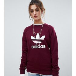 Sweat-shirt ras de cou à logo trèfle - Marron - adidas Originals - Shopsquare