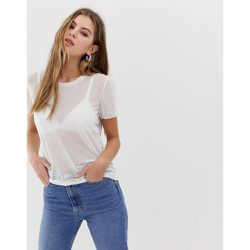 Stina - T-shirt en tulle - Only - Shopsquare