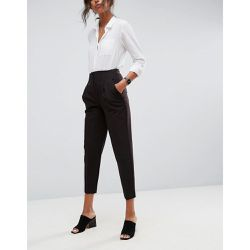 Mix & Match - Pantalon cigarette à taille haute - Noir - ASOS DESIGN - Shopsquare