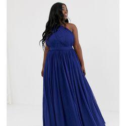 442ce245675 ASOS DESIGN Curve - Robe longue asymétrique en tulle - ASOS Curve -  Shopsquare