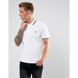 Polo ajusté bord double rayure - - Fred Perry - Shopsquare
