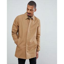 Trench imperméable coupe droite - Tabac - ASOS DESIGN - Shopsquare cb1963a0fbb9