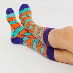 Rock n' roll - Chaussettes à rayures - Happy Socks - Shopsquare