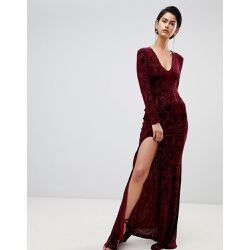 Robe longue en velours - Forever Unique - Shopsquare