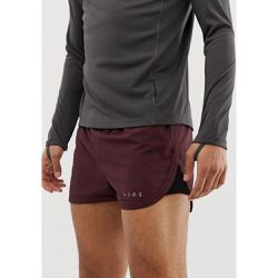 Short de running court avec empiècements en tulle - Bordeaux - ASOS 4505 - Shopsquare