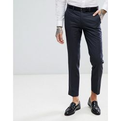 Pantalon de costume coupe slim à mini carreaux - Anthracite - Harry Brown - Shopsquare