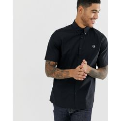 Chemise manches courtes en twill - - Fred Perry - Shopsquare