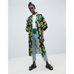 Kenya - Kimono long à imprimé ananas - ASOS MADE IN - Shopsquare