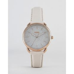ES4421 Tailor - Montre bracelet en cuir - brillant 35mm - Fossil - Shopsquare