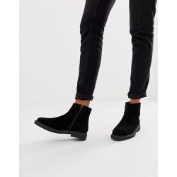 Bottines plates - Daim - River Island - Shopsquare