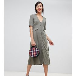 ASOS DESIGN Tall - Robe patineuse mi-longue à poches - ASOS Tall - Shopsquare