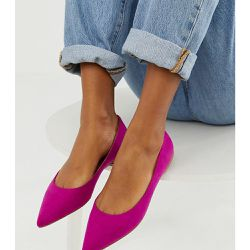 Latch - Ballerines pointues - Fuchsia - ASOS DESIGN - Shopsquare