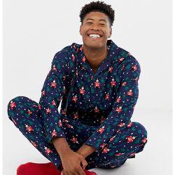 bf6978cf9526d TALL - Mr & Mrs - Pyjama de Noël motif casse-noix - ASOS DESIGN