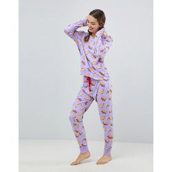 Taco Cat - Ensemble pyjama long - Chelsea Peers - Shopsquare