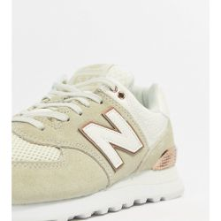 Baskets - Crème et or rose - New Balance - Shopsquare