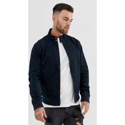 Blouson Harrington - Bleu marine - New Look - Shopsquare