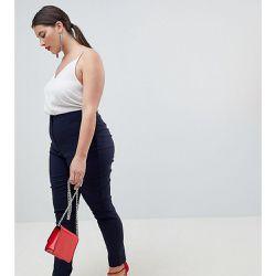 0fd4a748179d9 ASOS DESIGN Curve - Pantalon skinny taille haute
