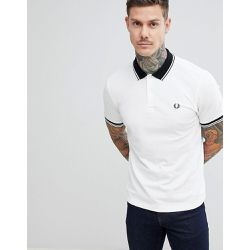 Polo à liserés contrastants - - Fred Perry - Shopsquare