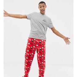 66a8b33f99e38 Ensemble de pyjama de Noël avec motif cochons sous les couvertures - ASOS  DESIGN - Shopsquare