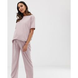 ASOS DESIGN Maternity - Mix & Match - Pantalon de pyjama en jersey chiné - ASOS Maternity - Shopsquare
