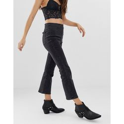 Jean bootcut court à taille ultra haute - Free People - Shopsquare