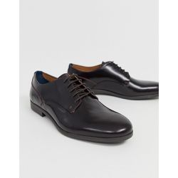 Axeminster - Chaussures lacées ultra brillantes - Bordeaux - H by Hudson - Shopsquare